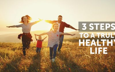 Three simple steps to a healthy life